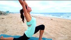 Beach Yoga with Karena - Tone It Up! - YouTube