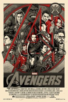 I like it but it may be a tad overcrowded or needs another color separation - The Avengers