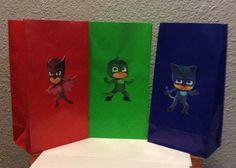 This PJ Mask goody bags are perfect for your birthday party.  You will receive…