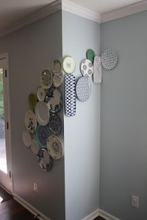 Plate Display - Round the corner in the dining room?