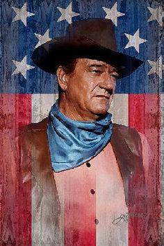 John Wayne - American Cowboy