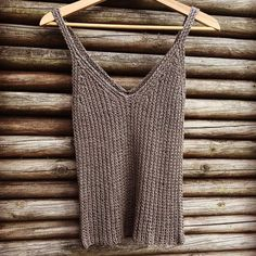 made by 💛 Sizes from XS-XL Pattern available in Danish at www. Fashion Mag, Summer Knitting, Danish, Tank Tops, Pattern, Babies, Women, Diy, Inspiration