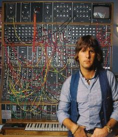 Keith Emerson (1944-2016). Prog rock's most innovative keyboardist. Grand piano, Hammond organ or Moog synth........he defines a musical genre.