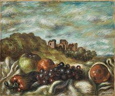 Giorgio de Chirico, Vita Silente, 1958.  Courtesy Tornabuoni Art