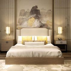 Home Decorating Idea Phot Contemporary Bed 51