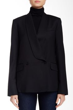 Amala Virtuous Wool Blend Blazer by Theory on @nordstrom_rack