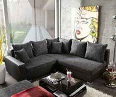 Couch Lavello Grau Schwarz 210x210 cm Hocker Ottomane Rechts Ecksofa Jetzt bestellen unter: https://moebel.ladendirekt.de/wohnzimmer/sofas/ecksofas-eckcouches/?uid=0be3df61-5dd8-5a1d-aa95-33a4075bb2f0&utm_source=pinterest&utm_medium=pin&utm_campaign=boards #sofas #wohnzimmer #ecksofaseckcouches