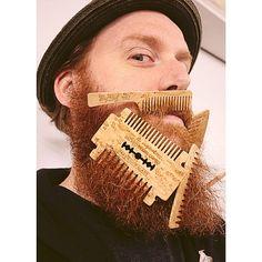 Felt like a Birdseye Maple kind of day. #bigredbeardcombs #beard #beards #bearded #beardedmen #beardcomb #beardcombs #woodcomb #pocketcomb #comb  #beardoil #beardbalm #mustache #girlswholovebeards #gentlemen #noshave #beardgang #beardlife #beardstildeath