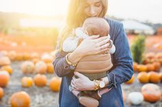 Augustine's First Time at the Pumpkin Patch Baby Pumpkin Pictures, Fall Baby Pictures, Pumpkin Patch Pictures, Pumpkin Photos, Baby In Pumpkin, Fall Pics, Newborn Pictures, Fall Photos, Family Photos With Baby