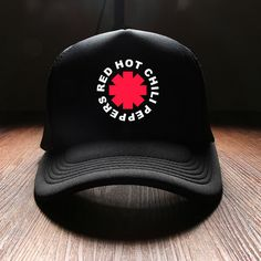 09b8d833e16d3 New 2017 Spring Fashion Hip Hop Punk Red Hot Chili Peppers Rock Band Mens  Sun Hats Visor And Winter Caps Duck Tongue Punk Brand