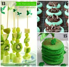 roundup of green treats for St.Paddy's day 5