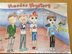 Murder Mystery Sub, Alex, Corl, and Denis