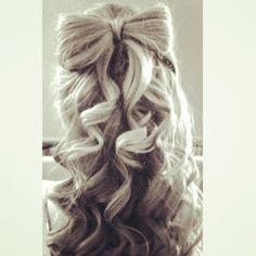 Hair bow... Love it ❤