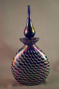 Iridescent Perfume Bottle