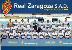 Foto Oficial Real Zaragoza Temporada 2005-06