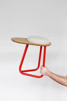 Daphna Laurens . Chair 01 & Stool 01 | A R T N A U