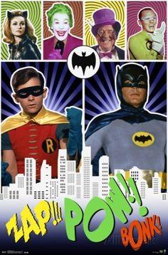 Batman - Pow Print