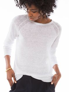 da195708f04 Linen Sweater Linen Sweater Found on life edit dot com