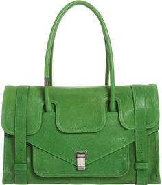 Proenza Schouler Small Leather Ps1 Keep All in Green - Lyst