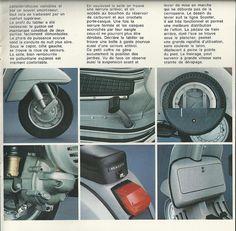 P Series Vespa features.