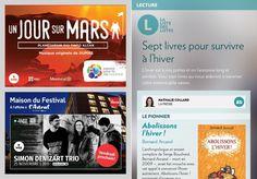 Sept livres pour survivre àl'hiver - La Presse+ Voici, Books, Puertas, Reading, Livres, Livros, Book, Libros, Libri