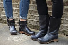 Sanita Mina and allyson clog boots available at Lotta From Stockholm