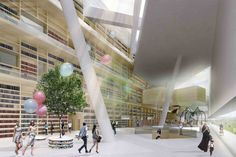 Helsinki Central Library Competition Entry (4)