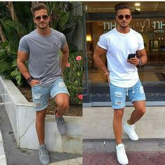 45 Trendy Mens Fashion Summer Ideas to Make Your Happy Outfits Casual, Cool Summer Outfits, Stylish Mens Outfits, Mode Outfits, Men Casual, Fashion Outfits, Men's Fashion, Men's Summer Clothes, Beach Clothes Mens