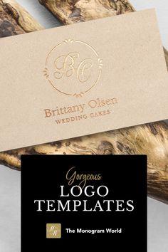 Wedding Logos, Monogram Wedding, Monogram Logo, Wine And Spirits, Letter Logo, Corporate Design, Hotels And Resorts, Logo Templates, Restaurant Bar