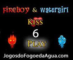 Jogo do Fogo e da Água 6 de Beijar