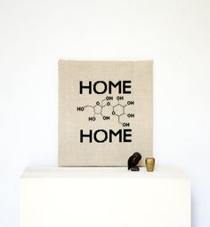 Home Sweet Home Cross Stitch Pattern geek by FireplaceHobby