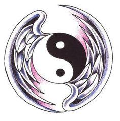 ying yang wings
