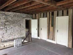 A Piece of North Country History – Your chance to call it your own! Rare opportunity to bring new life to this incredible 1825 stone house which has been formally occupied by noted North Coun… North Country, Small Farm, Stone Houses, Old House Dreams, Old Houses, Beams, The Originals, Outdoor Decor, Homes