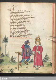 233 [115r] - Ms. germ. qu. 12 - Die sieben weisen Meister - Page - Mittelalterliche Handschriften - Digitale Sammlungen Frankfurt, 1471