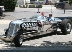 Blastolene Special - This one of a kind piece is owned by Jay Leno. It weighs just short of 10,000 pounds; an impressive machine by any standards. Jay has tricked it out with 1,500 horsepower and 3,000 pound per foot torque.