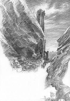 alan_lee_the lord of the rings_sketchbook_13_ithilien09_med.jpg (348×500)