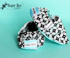 Cute and customizable slip-on shoes for baby.