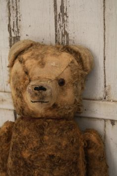 Old Worn & Well Loved...teddy.