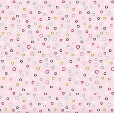 15 Yards in Stock - 3 Wishes Fabric - Dots on Light Pink from the collection Whimsy Woodland - 12732 - 100% Cotton
