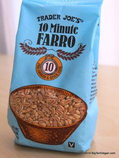 10-Minute Farro #vegan