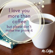 Who else agrees? #MrCoffee