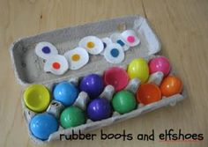 rubberboots and elf shoes: Easter learning games
