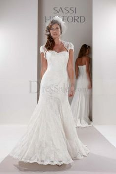 Illusion Neckline for Lace Mermaid Bridal Wedding Dresses