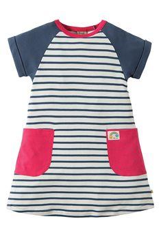 Hop Scotch Tunic Dress Toddler Fashion, Toddler Outfits, Kids Outfits, Kids Fashion, Kids Clothes Sale, Doll Clothes, Kids Clothing, Sewing For Kids, Baby Sewing