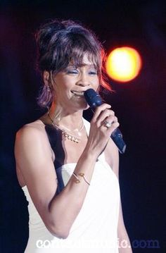WHITNEY HOUSTON has taken her first step toward a career comeback with a well-received live performance at a charity ball in London. In a bid to prove she has put her troubles behind her, the singer stepped onto the stage at the Caudwell Children Legends Ball on Thursday evening (08May08), where she wowed the packed venue with her greatest hits. Wearing a full-length gown decorated with sparkling Chopard diamonds, Houston performed before a host of celebrity guests. She was fantastic.
