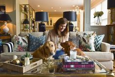 Kathy & Matt's Classic Meets Chinoiserie Chic Home — House Tour | Apartment Therapy