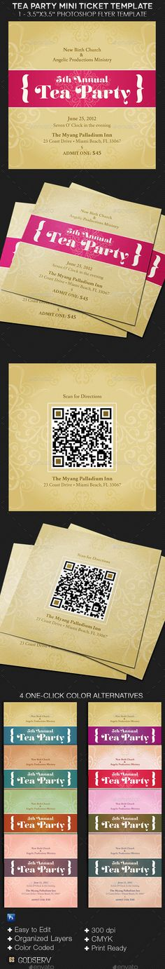 Anniversary Gala Ticket Template To be, Ticket template and - party tickets templates