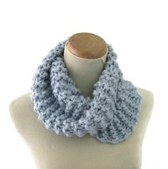 Bulky Cowl Hand Knit Scarf Knit Cowl Winter by ArlenesBoutique