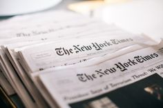The New York Times and newspaper