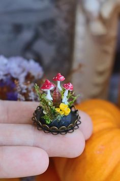 I Make One Of A Kind Magic Portal Necklaces Using Natural Gemstones, Polymer Clay And Precious Metals | Bored Panda